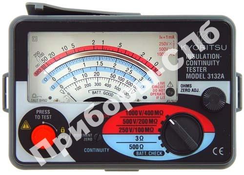 KEW 3132A - мегаомметр аналоговый 250/500/1000 В